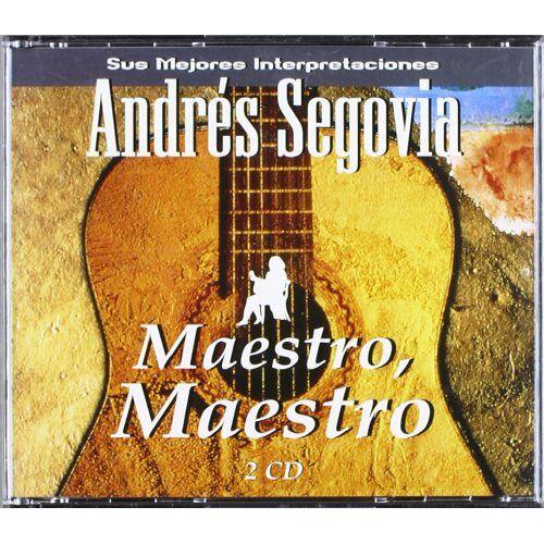 Andres Segovia - Maestro,Maestro - Preis vom 22.10.2020 04:52:23 h
