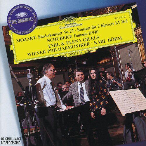 Gilels - Klavierkonzert 27/Konzert für 2 Klaviere KV 365 - Preis vom 20.10.2020 04:55:35 h