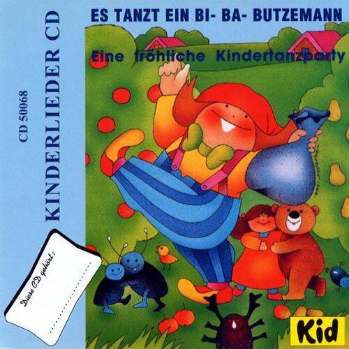 Kinderlieder - Es Tanzt Ein Bi-Ba-Butzemann - Preis vom 19.10.2020 04:51:53 h
