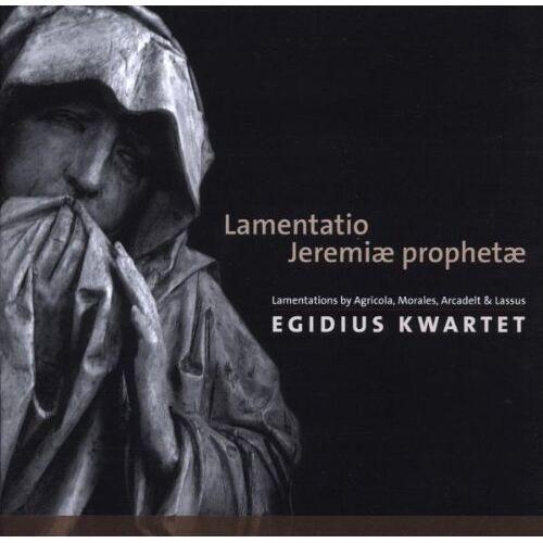 Egidius Quartet - Lamentatio Jeremiae Prophetae - Preis vom 26.02.2021 06:01:53 h