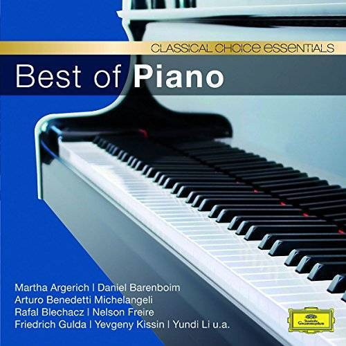 Argerich - Best of Piano (Classical Choice) - Preis vom 24.02.2021 06:00:20 h