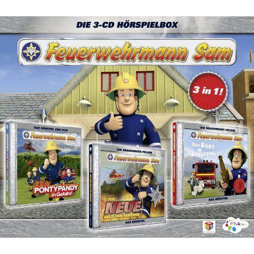 Feuerwehrmann Sam - Feuerwehrmann Sam Hörspielbox 1 - Preis vom 17.04.2021 04:51:59 h