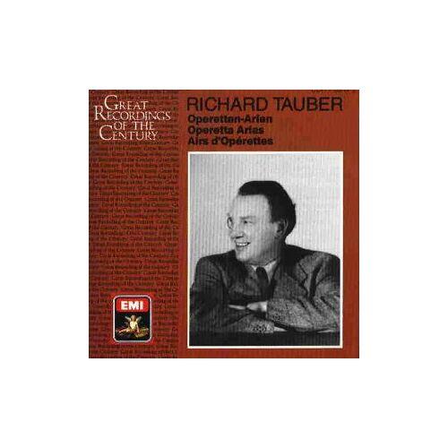 Richard Tauber - Operettenlieder/ Operetten-Arien / Operetta Arias - Preis vom 20.10.2020 04:55:35 h