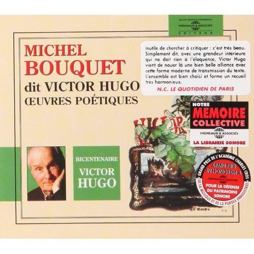 Michel Bouquet - Michel Bouquet dit Victor Hugo - Preis vom 21.10.2020 04:49:09 h