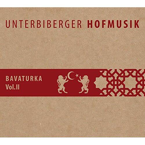 Unterbiberger Hofmusik - Bavaturka Vol.2 - Preis vom 03.12.2020 05:57:36 h