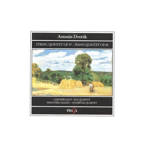 Suk Quartet - String Quintet Op. 97 / Piano Qui - Preis vom 21.10.2020 04:49:09 h
