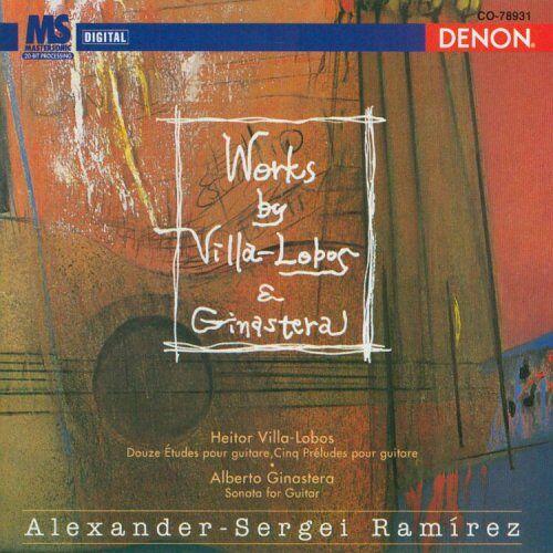 Alexander-Sergei Ramirez - 12 Etudes F.Gitarre/5 Preludes - Preis vom 18.04.2021 04:52:10 h