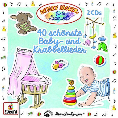 Detlev Jöcker - 40 Schönste Baby-und Krabbellieder - Preis vom 23.10.2020 04:53:05 h