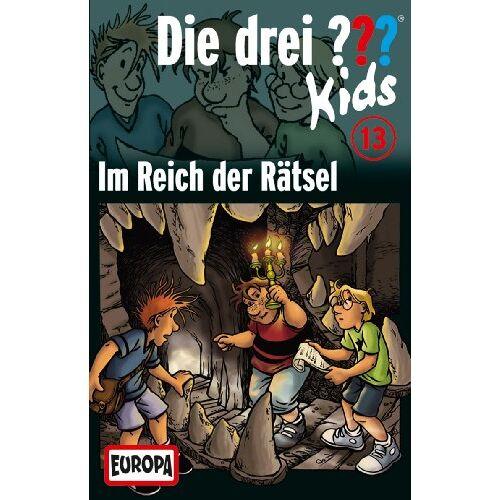 Die Drei ??? Kids - 013/im Reich der Rätsel [Musikkassette] [Musikkassette] - Preis vom 31.10.2020 05:52:16 h