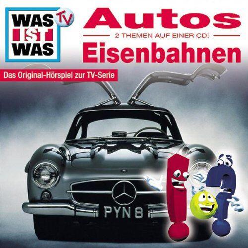 Was Ist Was - WAS IST WAS, Folge 02: Autos/Eisenbahnen - Preis vom 07.05.2021 04:52:30 h