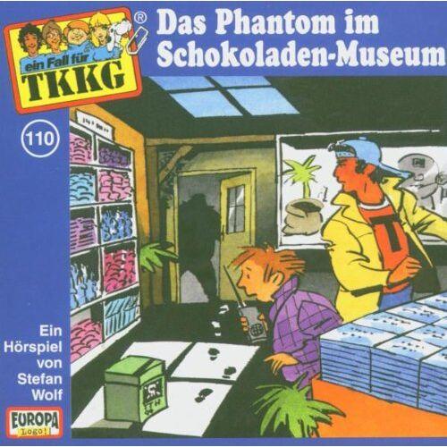 Tkkg 110 - 110/das Phantom im Schokoladenmuseum - Preis vom 06.09.2020 04:54:28 h