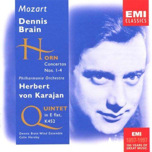 Dennis Brain - Hornkonzerte/Hornquintett - Preis vom 11.04.2021 04:47:53 h