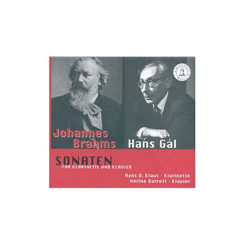 Klaus, Hans d. - Sonaten für Klarinette und Klavier - Preis vom 26.02.2021 06:01:53 h
