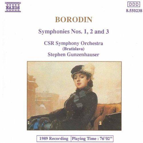 Gunzenhauser - Borodin Sinfonien 1-3 Gunzenhauser - Preis vom 09.04.2021 04:50:04 h
