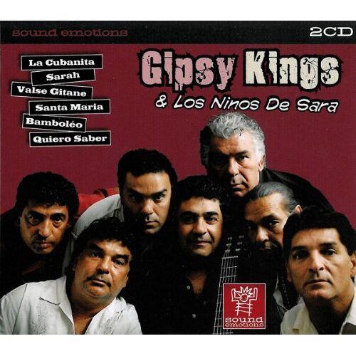 Gipsy Kings - Gipsy Kings & Los Ninos de Sara - 2 CD - Preis vom 15.05.2021 04:43:31 h