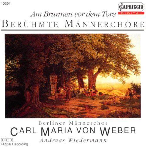 Berliner Männerchor - Am Brunnen Vor dem Tore - Preis vom 22.01.2021 05:57:24 h