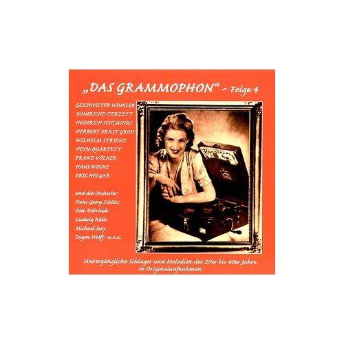 Various - Das Grammophon-Folge 4 - Preis vom 23.01.2021 06:00:26 h
