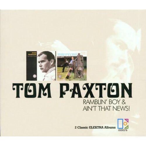 Tom Paxton - Ramblin' Boy & Ain't That News - Preis vom 18.04.2021 04:52:10 h