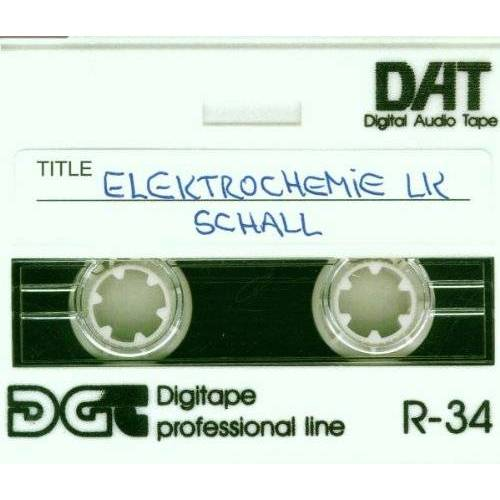 Elektrochemie Lk - Schall - Preis vom 05.05.2021 04:54:13 h