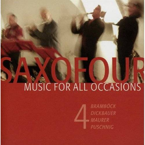 Soxofour - Music for All Occasions - Preis vom 17.04.2021 04:51:59 h