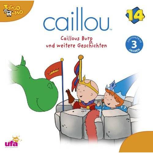Caillou - Caillou 14/Audio:Caillous Burg Und Weitere Gesch - Preis vom 14.04.2021 04:53:30 h