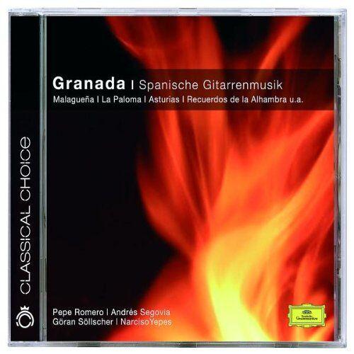 P. Romero - Granada - Spanische Gitarrenmusik (Classical Choice) - Preis vom 14.04.2021 04:53:30 h
