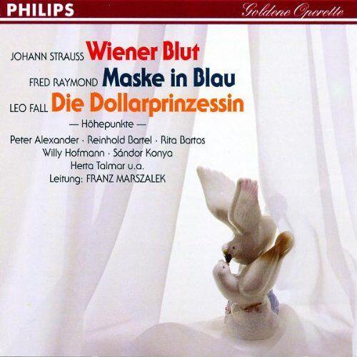 Talmar - Wiener Blut / Maske in.Blau / Die Dollarprinzessin - Preis vom 05.03.2021 05:56:49 h