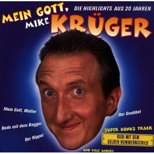 Mike Krüger - Mein Gott,Krüger - Preis vom 20.10.2020 04:55:35 h