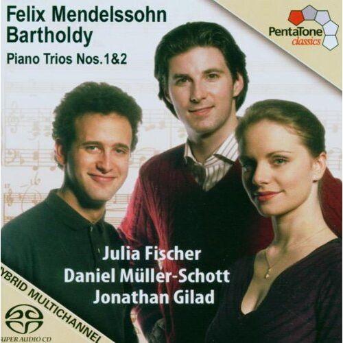 Julia Fischer - Klaviertrios 1 & 2 - Preis vom 26.02.2021 06:01:53 h