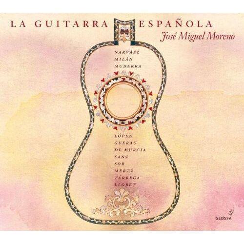Jose Miguel Moreno (Vihuela/Gitarren) - La Guitarra Espanola - Preis vom 25.02.2020 06:03:23 h