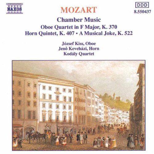 Kiss Mozart: Oboenquartett / Hornquintett - Preis vom 11.04.2021 04:47:53 h