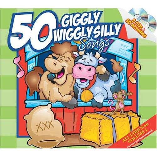 50 Play Together Activies Seri - 50 Giggly Wiggly Silly Songs - Preis vom 14.01.2021 05:56:14 h