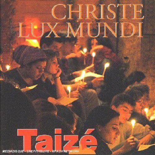 Taize - Taizé: Christe lux mundi - Preis vom 09.04.2021 04:50:04 h