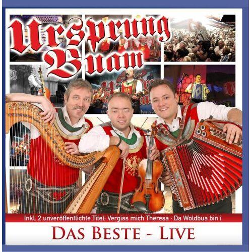 Ursprung Buam - Das Beste - Live - Preis vom 23.02.2021 06:05:19 h