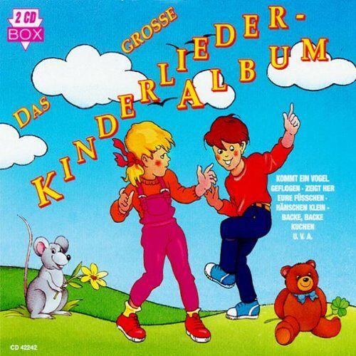 Kinderlieder - Das Grosse Kinderlieder Album1 - Preis vom 11.05.2021 04:49:30 h