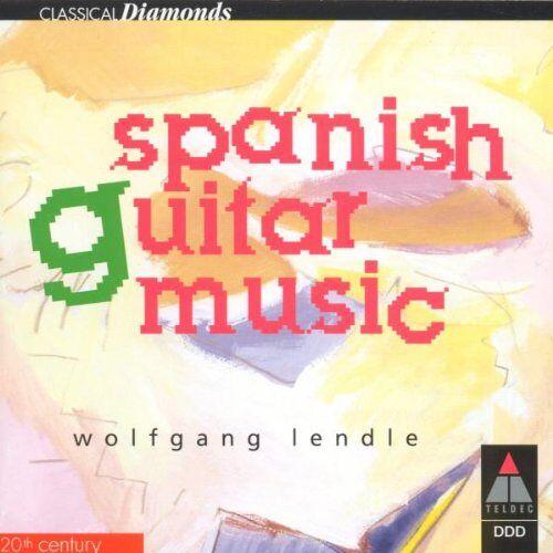 Wolfgang Lendle - Spanische Gitarrenmusik - Preis vom 18.10.2020 04:52:00 h