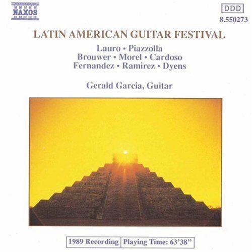 Gerald Garcia - Lateinamerikanisches Gitarren-Festival - Preis vom 05.05.2021 04:54:13 h
