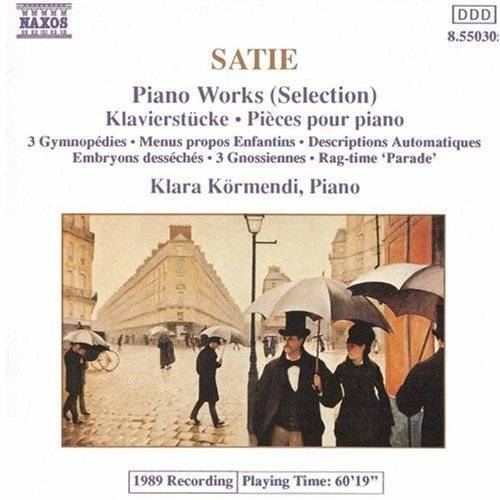 E. Satie - Piano Music - Preis vom 26.02.2021 06:01:53 h