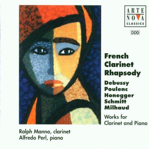 Manno - Werke für Klarinette und Klavier - Preis vom 20.10.2020 04:55:35 h