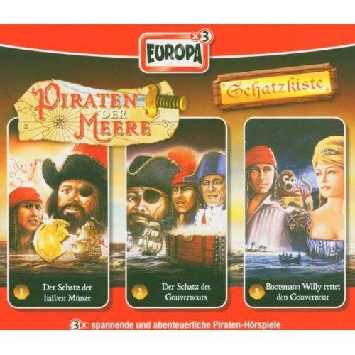 Piraten der Meere-Schatzkist - 01/3er Box-Schatzkiste - Preis vom 20.10.2020 04:55:35 h