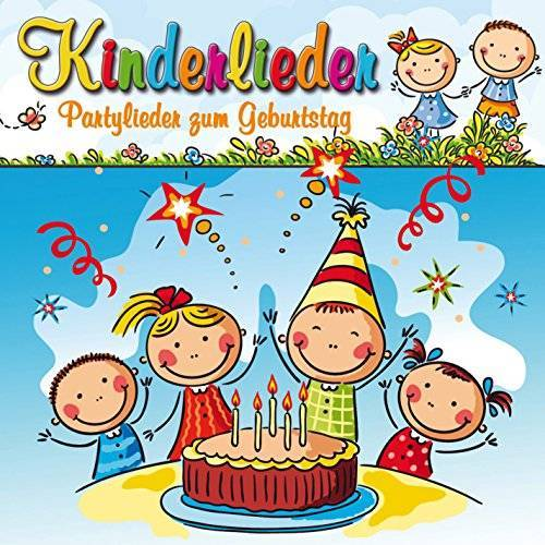 Various - Kinderlieder-Partylieder Zum Geburtstag - Preis vom 18.10.2020 04:52:00 h