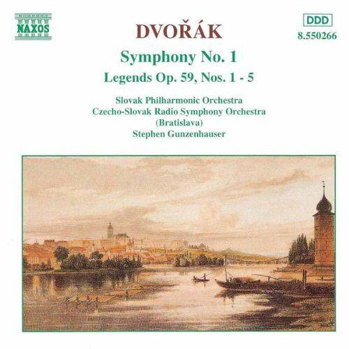 S. Gunzenhauser - Dvorak: Sinfonie 1 Gunzenhauser - Preis vom 18.10.2020 04:52:00 h