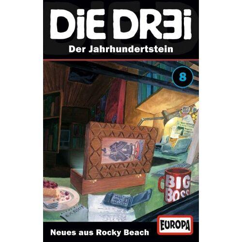 Die Dr3i - Folge 08: Der Jahrhundertstein [Musikkassette] - Preis vom 06.05.2021 04:54:26 h