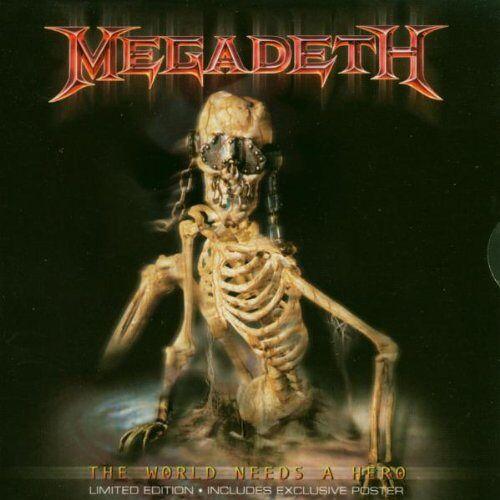 Megadeth - The World Need a Hero (Ltd.ed.+Poster) - Preis vom 20.10.2020 04:55:35 h