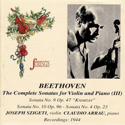 Szigeti - Sonaten für Violine und Klavier - Preis vom 20.10.2020 04:55:35 h