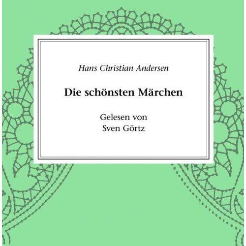 Sven Görtz - H. C. Andersen: Märchen - Preis vom 20.10.2020 04:55:35 h