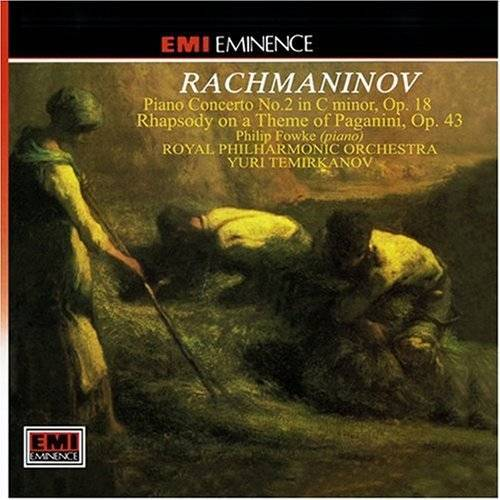 Philip Fowke - Rachmaninow (Rachmaninov): Piano Concerto No. 2 (op. 18) / Rhapsody on a theme of Paganini (op. 43) - Preis vom 05.09.2020 04:49:05 h