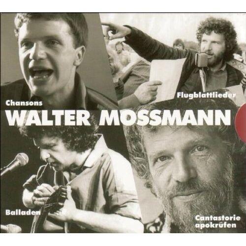 Walter Moßmann - Chansons, Balladen, Flugblattlieder - Preis vom 19.01.2021 06:03:31 h