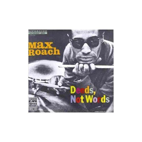 Max Roach - Deeds,Not Words - Preis vom 20.10.2020 04:55:35 h