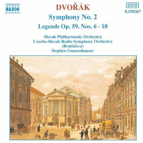 S. Gunzenhauser - Dvorak: Sinfonie 2 Gunzenhauser - Preis vom 09.04.2021 04:50:04 h